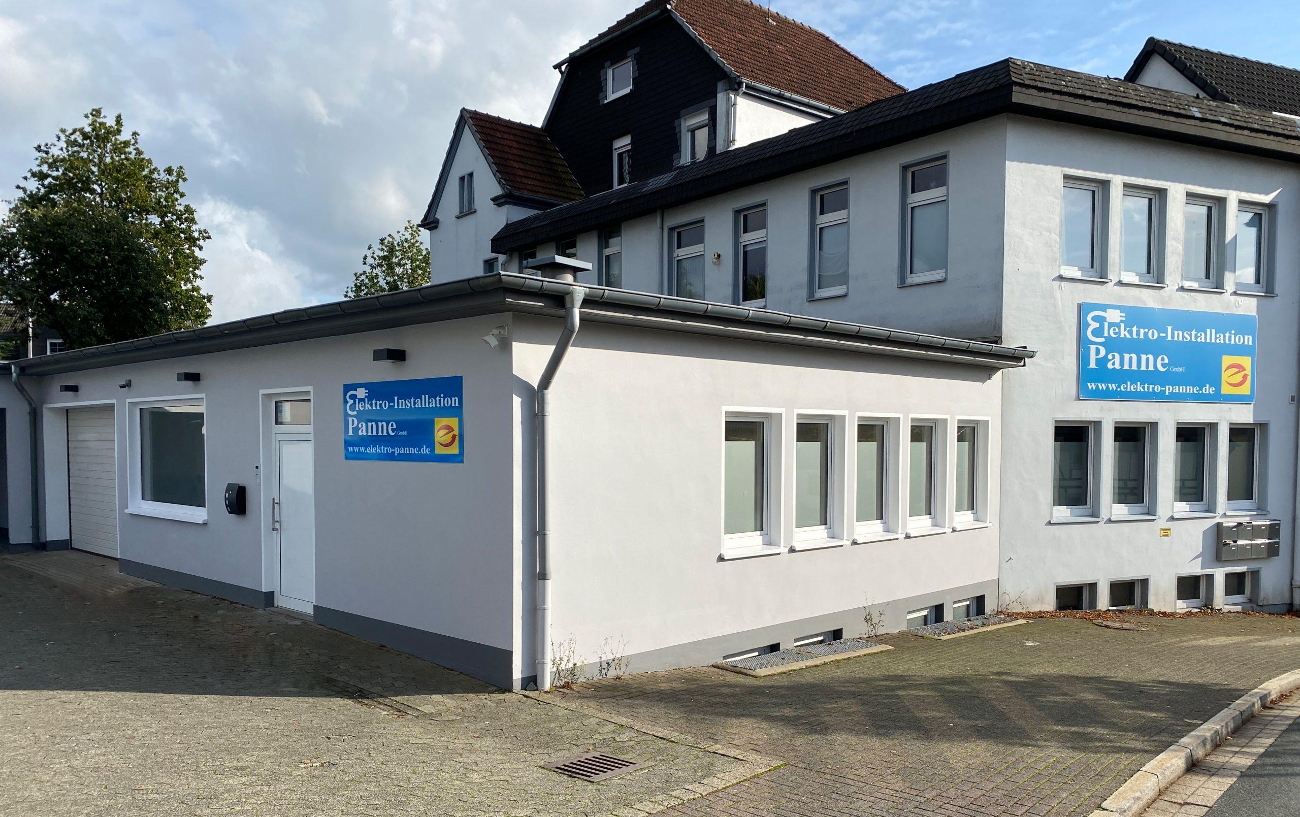 Hauptgebäude Elektro-Installation Panne GmbH in Halver